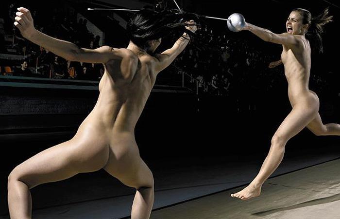 フェンシング オリンピック競技 全裸 アスリート ヌード スポーツ エロ画像【34】