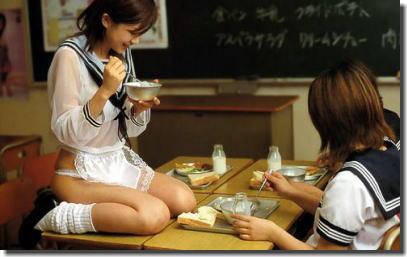 きっと学校が大好きになる教室JKのエロ画像 ④
