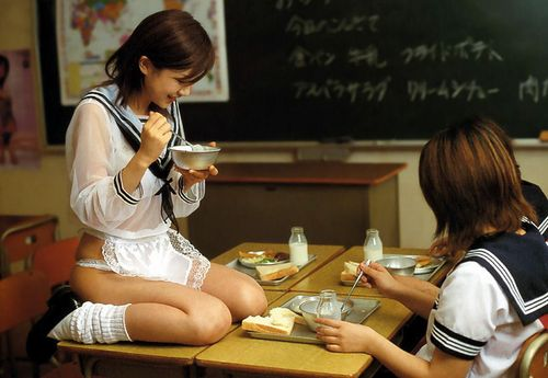 学校 教室 JK エロ画像【62】