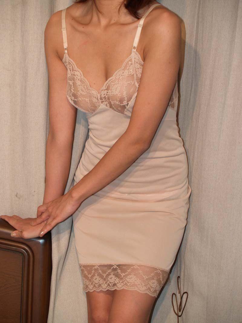 jpg4 ブラスリップ おばさん ベージュ 下着 肌色 熟女 エロ画像【19】