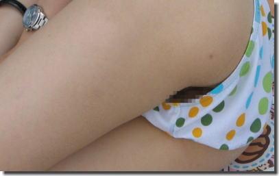 水着からハミ毛・ハミマン!夏のおまんこハプニング画像 ②
