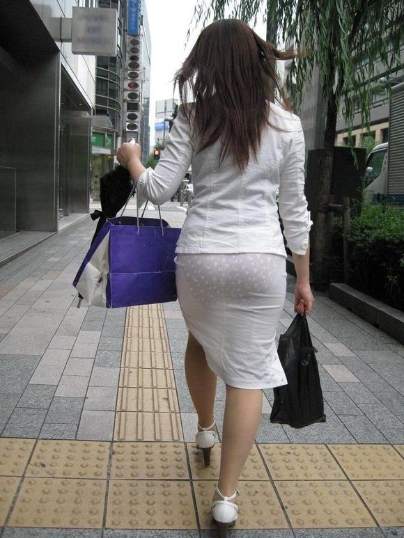 パンツ 透け過ぎ 丸分かり 透けパン エロ画像【19】
