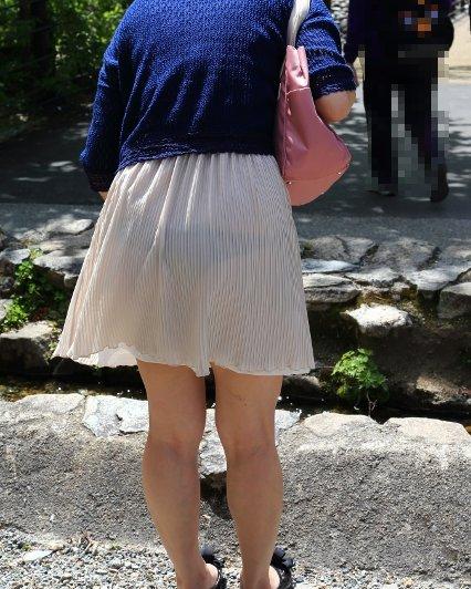 パンツ 透け過ぎ 丸分かり 透けパン エロ画像【29】