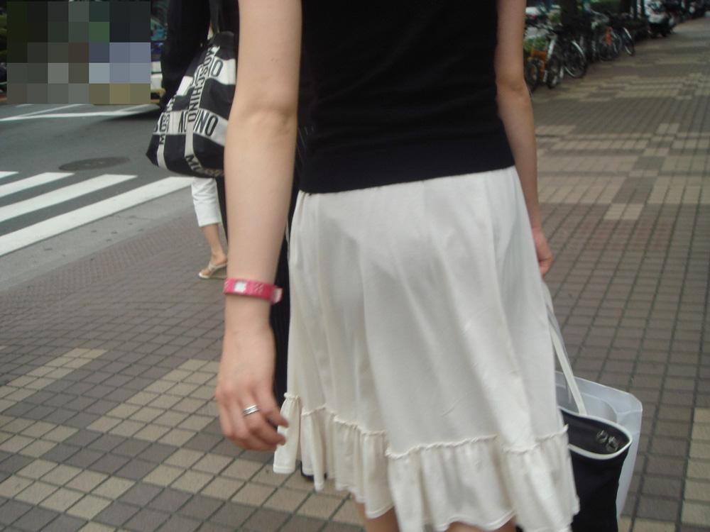 パンツ 透け過ぎ 丸分かり 透けパン エロ画像【37】