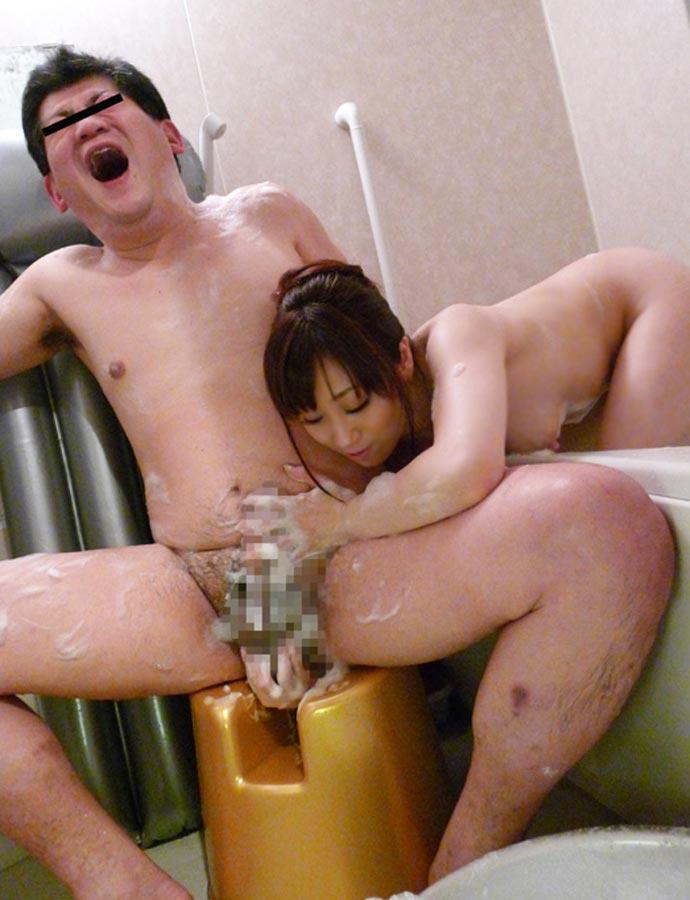 マンコ チンコ 洗う スケベイス 万能椅子 エロ画像【12】