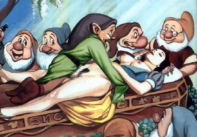 Snow white porno film