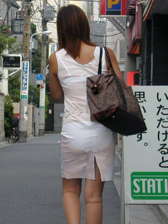 パンツ ブラジャー 同時 透ける 透けパン 透けブラ エロ画像【8】
