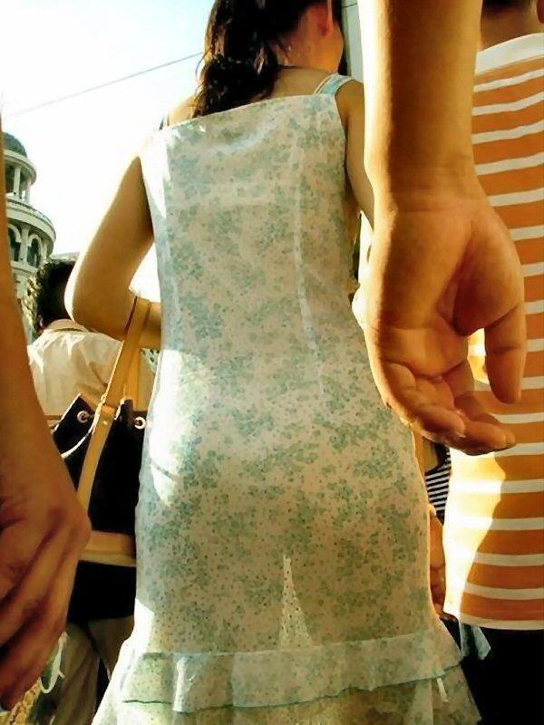 パンツ ブラジャー 同時 透ける 透けパン 透けブラ エロ画像【9】