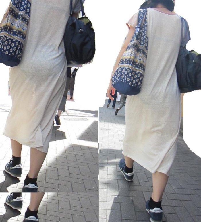 パンツ ブラジャー 同時 透ける 透けパン 透けブラ エロ画像【20】