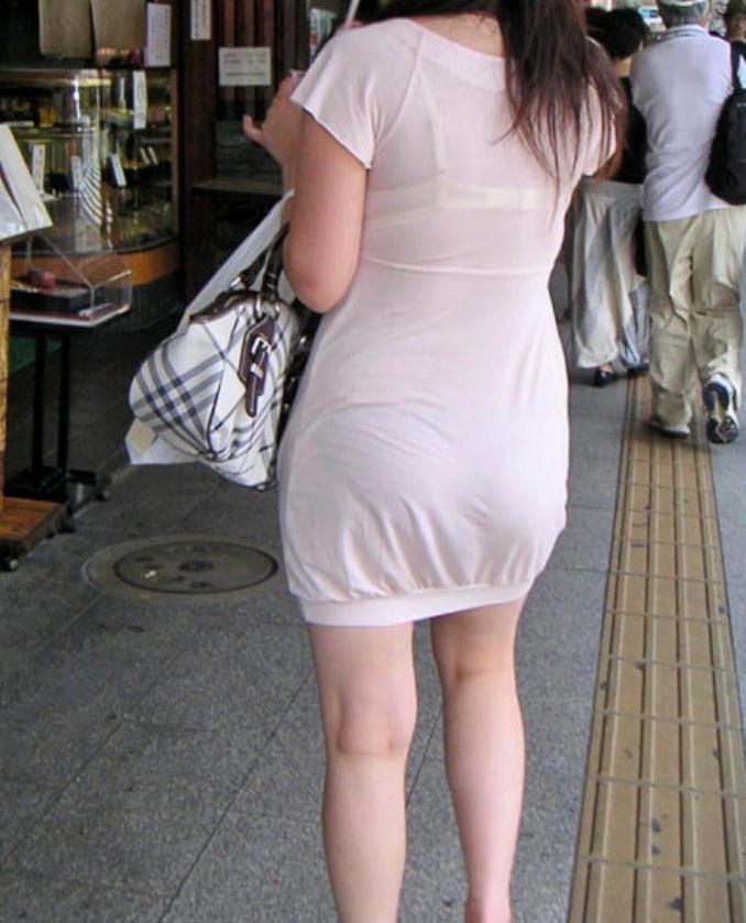 パンツ ブラジャー 同時 透ける 透けパン 透けブラ エロ画像【28】