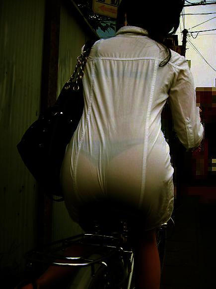 パンツ ブラジャー 同時 透ける 透けパン 透けブラ エロ画像【31】