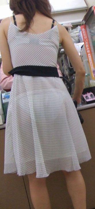 パンツ ブラジャー 同時 透ける 透けパン 透けブラ エロ画像【32】