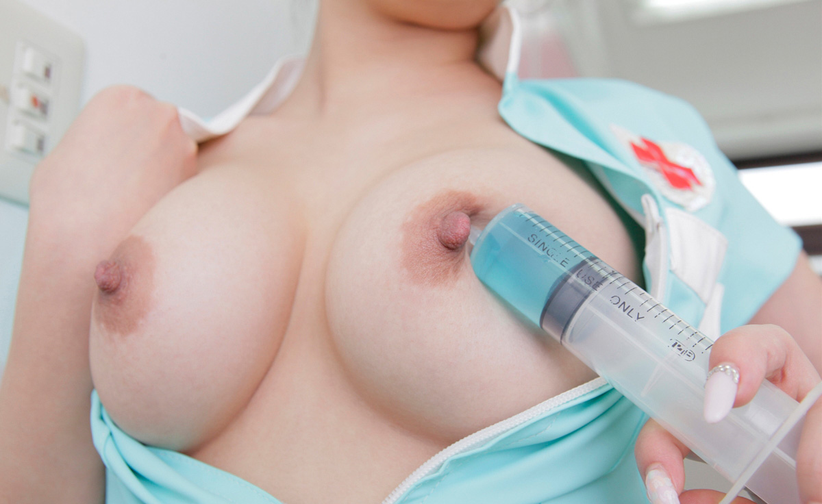 巨乳 ナース おっぱい 大きい 看護師 エロ画像【54】