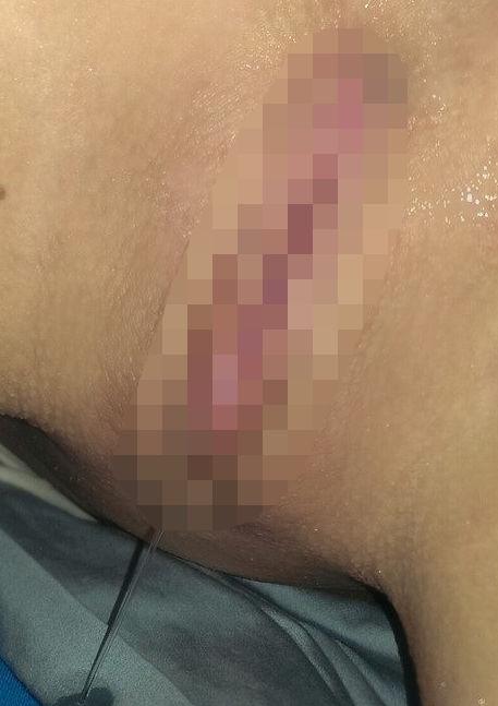 マンコ マン汁 滴る 落ちる エロ画像【7】