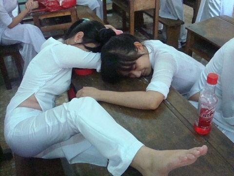 民族衣装 アオザイ ベトナム人 下着 透け エロ画像【20】