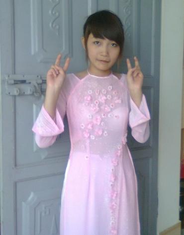 民族衣装 アオザイ ベトナム人 下着 透け エロ画像【32】