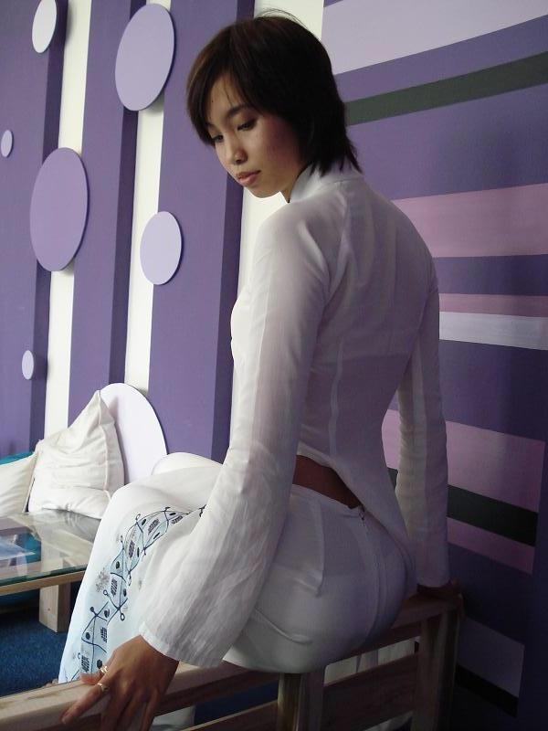 民族衣装 アオザイ ベトナム人 下着 透け エロ画像【48】