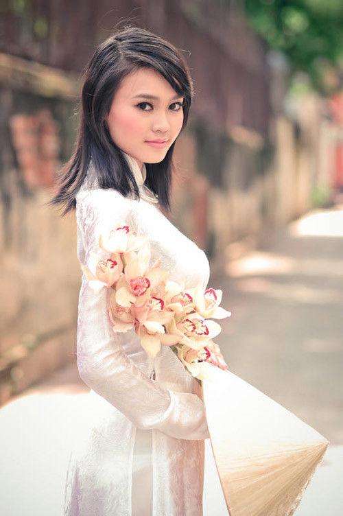 民族衣装 アオザイ ベトナム人 下着 透け エロ画像【50】
