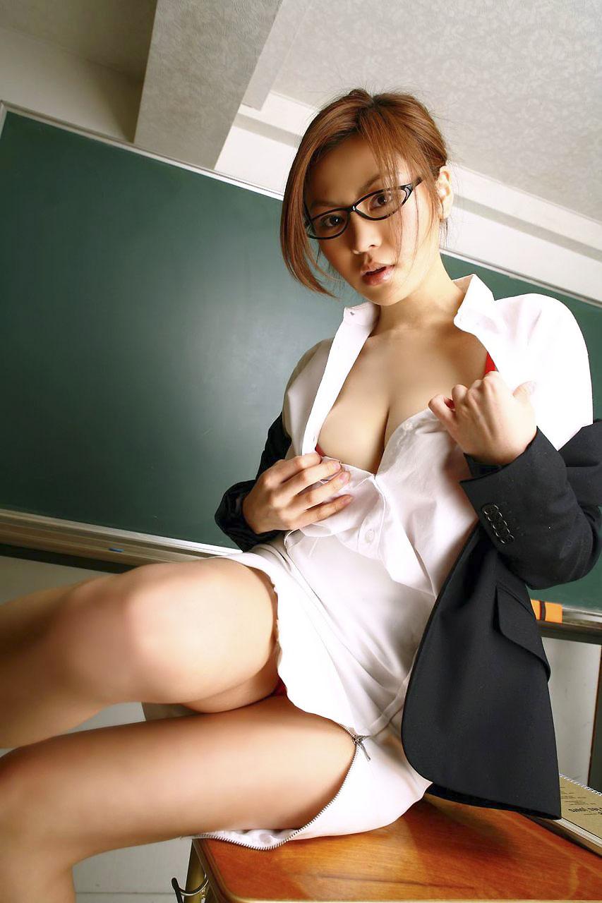 先生 美人 女教師 エロ画像【13】