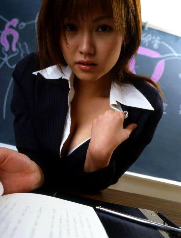 先生 美人 女教師 エロ画像【26】