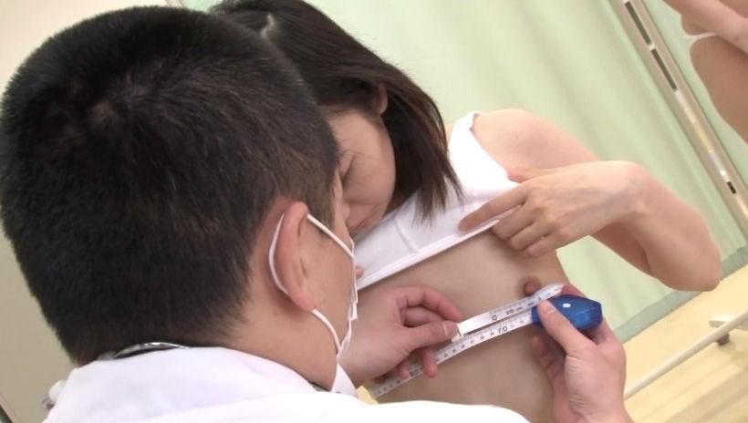 メジャー おっぱい 発育 測る 胸囲測定 エロ画像【21】