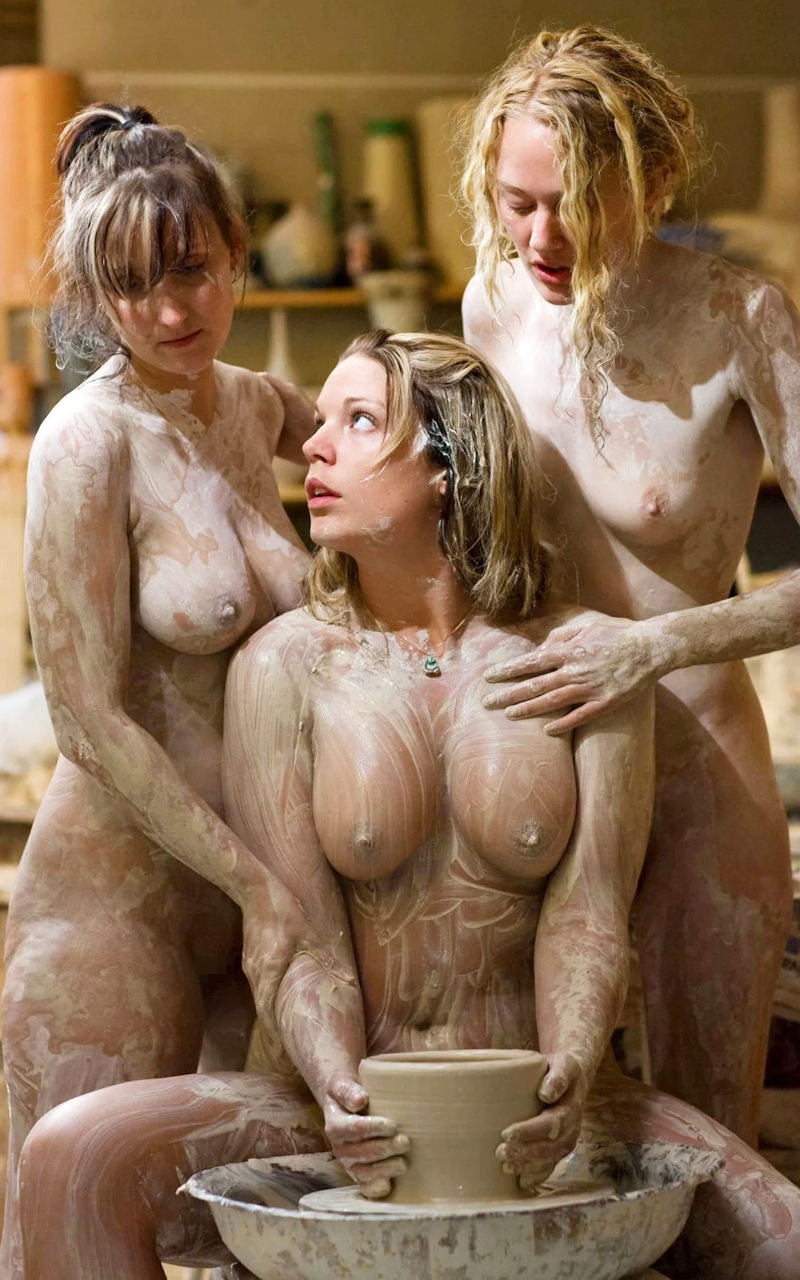 Naked Mud Wrestling Women