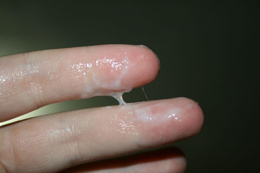 マンコ 触った指 オナニー 事後 マン汁 エロ画像【18】