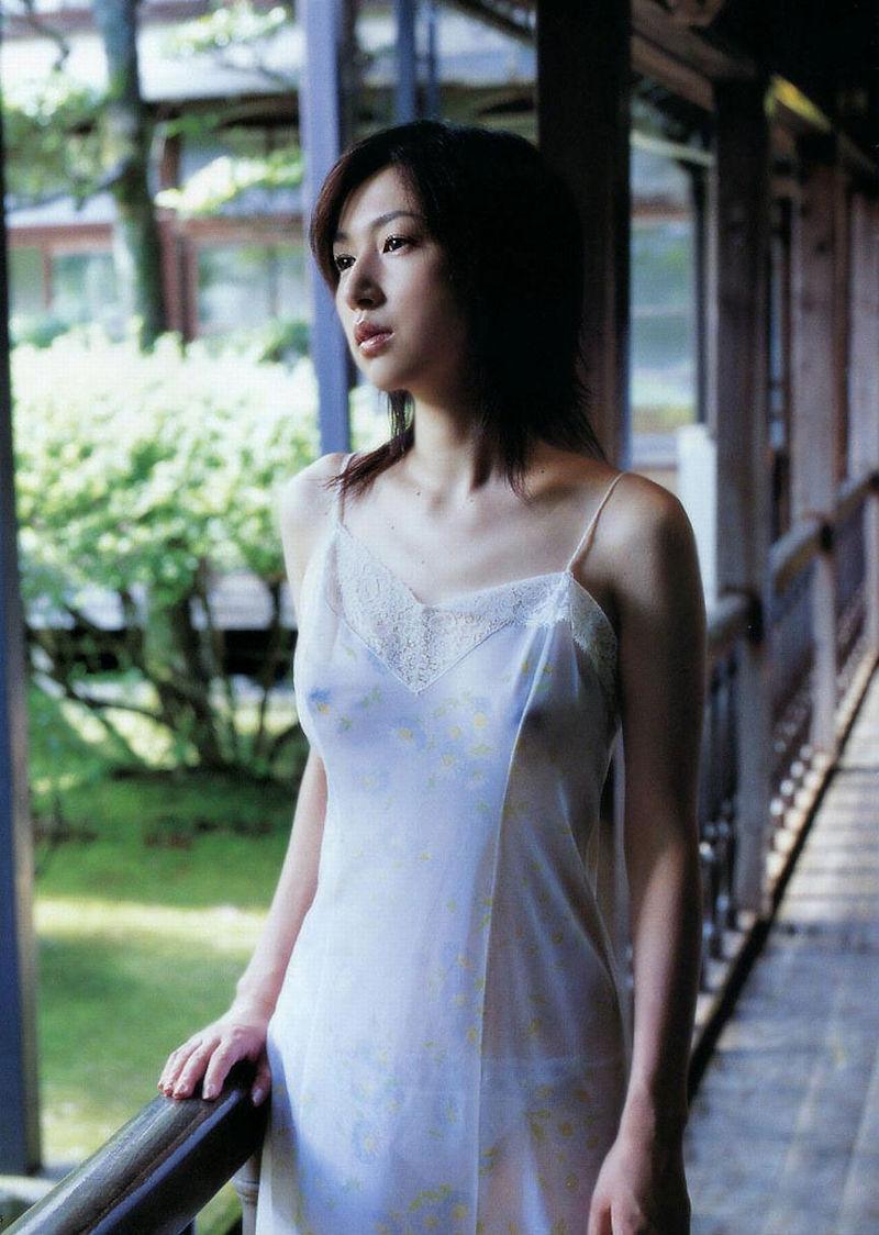 ネグリジェ ワンピース型 寝間着 エロ画像【30】