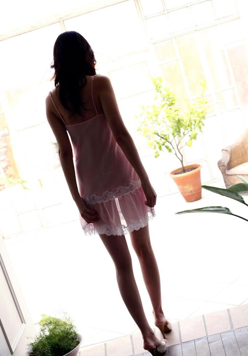 ネグリジェ ワンピース型 寝間着 エロ画像【33】