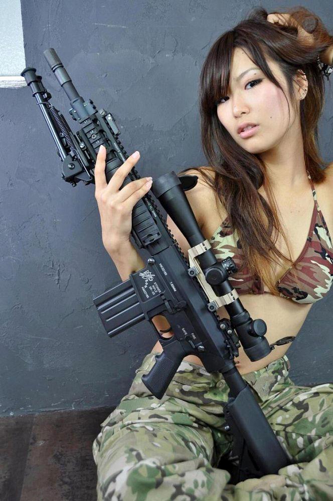 迷彩服 軍服 セクシー アーミー コスプレ エロ画像【12】