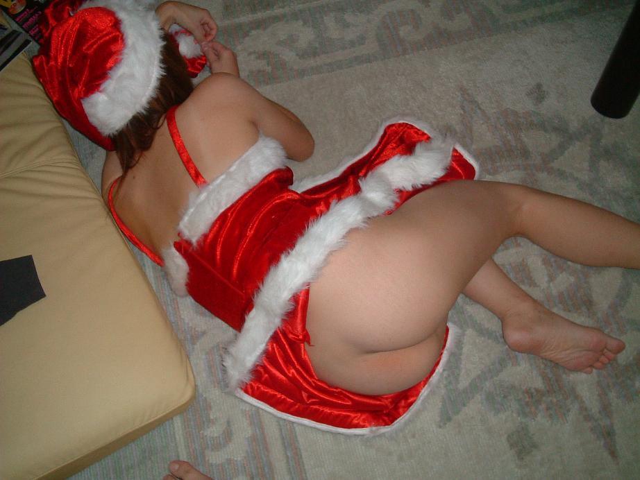 素人 クリスマス サンタ 彼女 熟女 エロ画像【13】