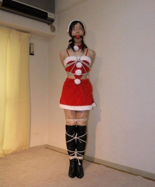 素人 クリスマス サンタ 彼女 熟女 エロ画像【22】