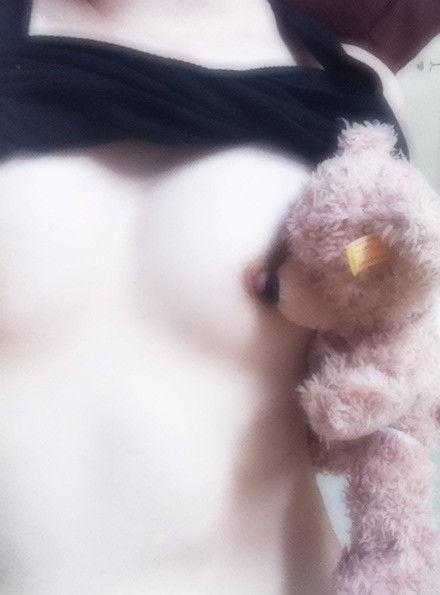 女神 ぬいぐるみ もふもふ 自撮り エロ画像【31】