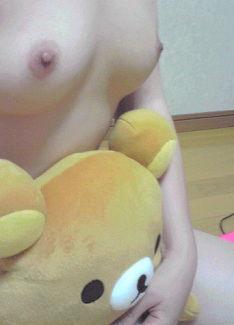女神 ぬいぐるみ もふもふ 自撮り エロ画像【39】