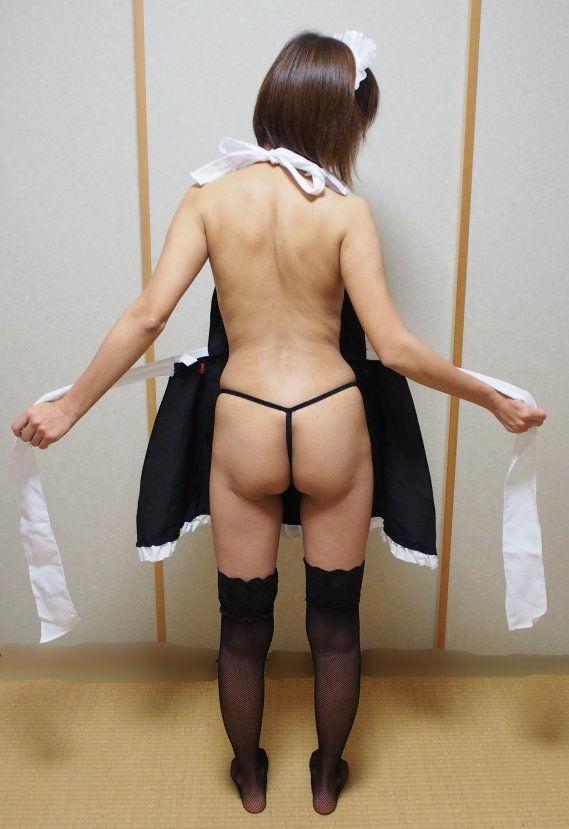 熟女 メイド コス 家政婦 おばさん エロ画像【31】