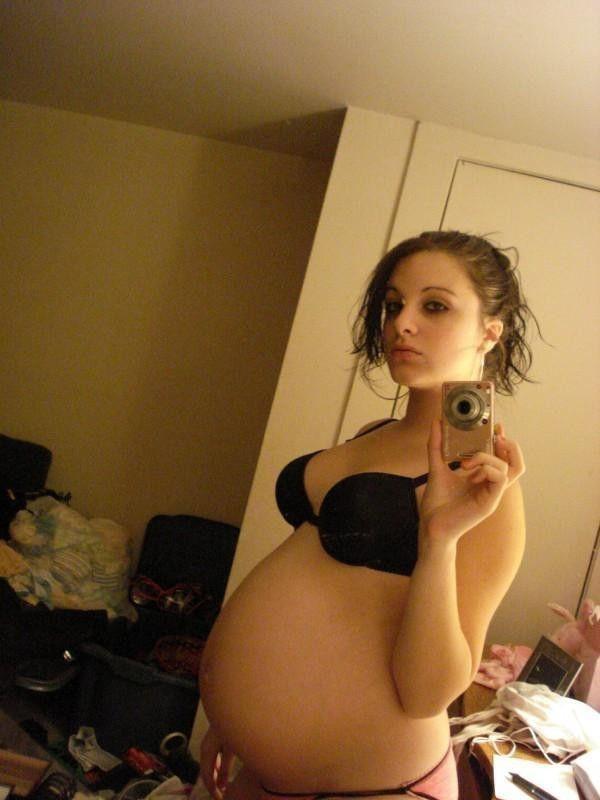 妊娠 綺麗 美人 妊婦 エロ画像【15】