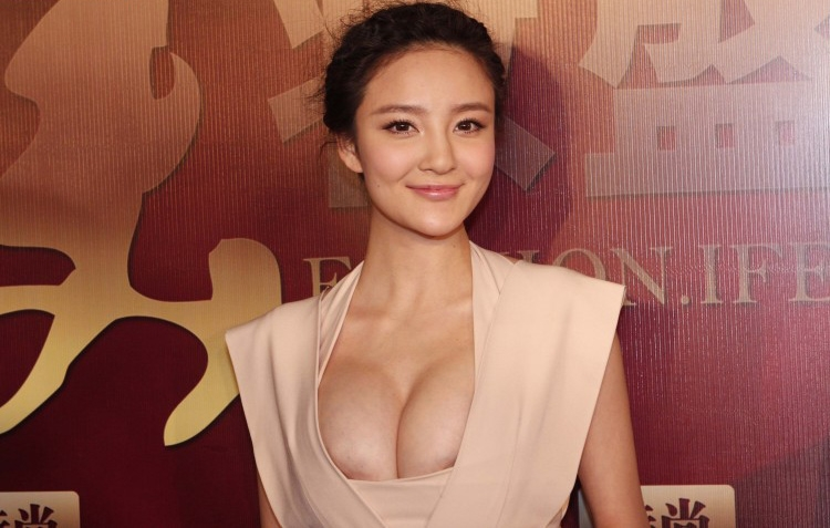 おっぱい 着衣 巨乳 中国人 エロ画像【39】