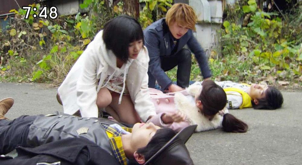 戦隊 特撮 ヒロイン アクション パンチラ エロ画像【3】