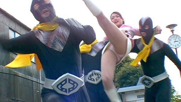 戦隊 特撮 ヒロイン アクション パンチラ エロ画像【8】