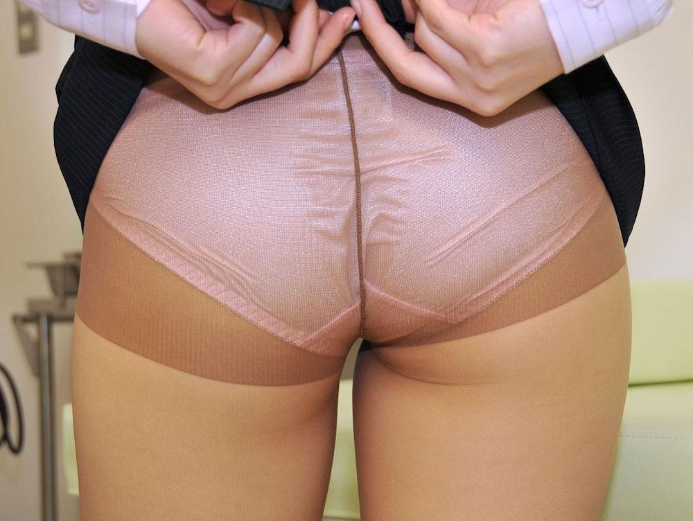 パンスト 穿く スカート たくし上げ エロ画像【36】
