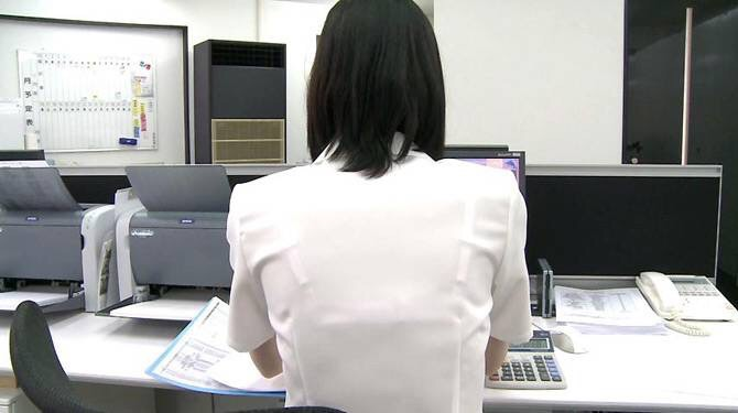 店員 ナース OL 働く女性 透けブラ エロ画像【20】