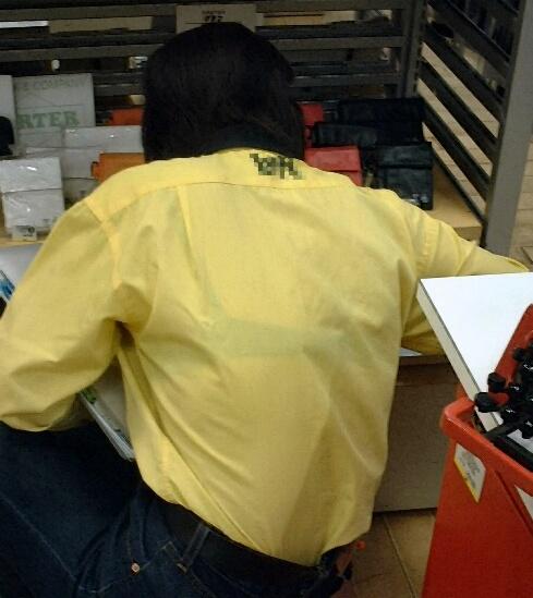 店員 ナース OL 働く女性 透けブラ エロ画像【34】