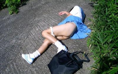 JKちゃんのレイプ・セックス事後画像 ②
