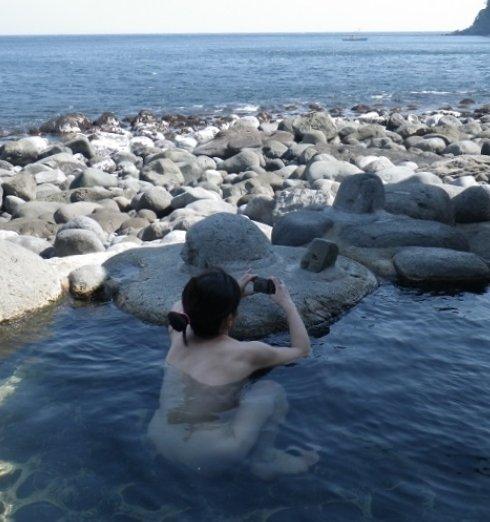 景色 最高 絶景 露天風呂 温泉 エロ画像【5】