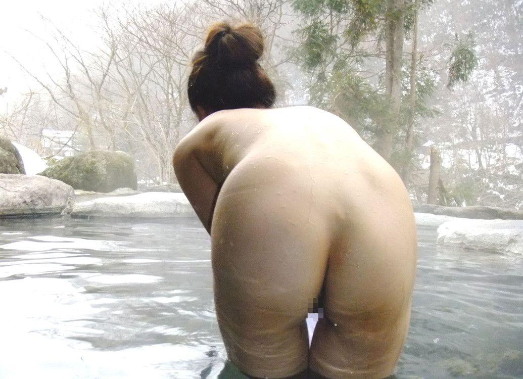 景色 最高 絶景 露天風呂 温泉 エロ画像【10】