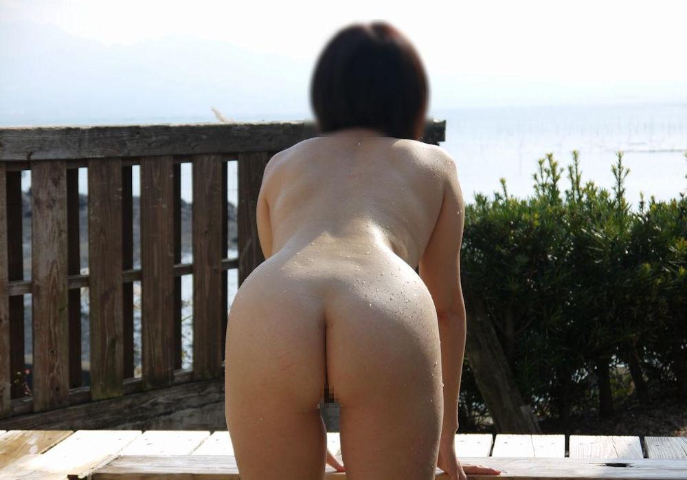 景色 最高 絶景 露天風呂 温泉 エロ画像【27】