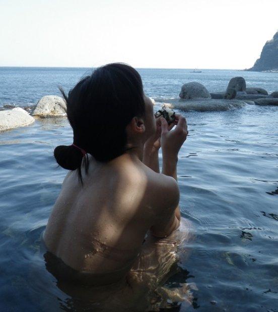 景色 最高 絶景 露天風呂 温泉 エロ画像【30】