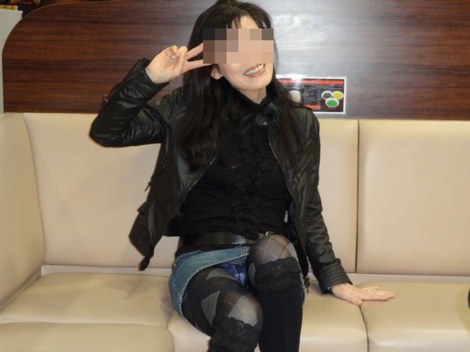 熟女 イェイ ピース おばさん エロ画像【35】