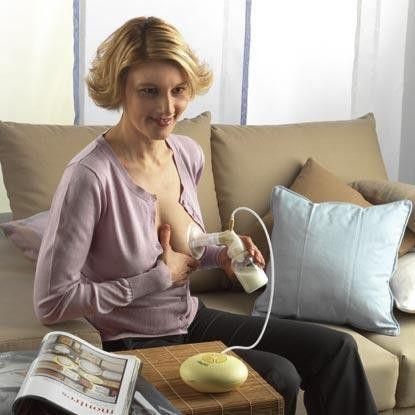 ママ 母乳 搾乳器 絞る ミルキング エロ画像【21】