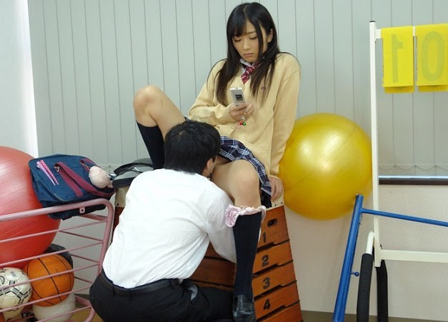 JK まんこ 舐める クンニ エロ画像【55】